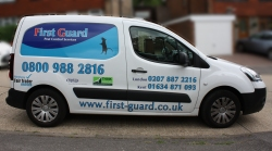 First Guard Pest Control Van in Medway